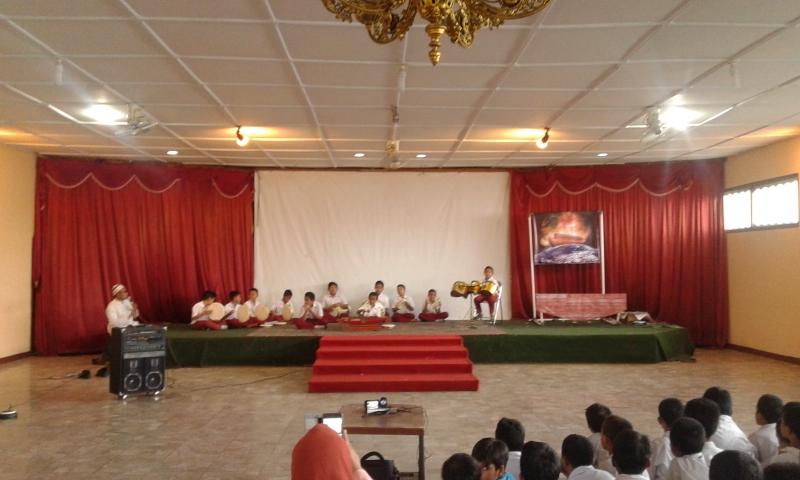 Jelang MAPSI, Siswa SD Islam Diponegoro Surakarta Gladi Bersih