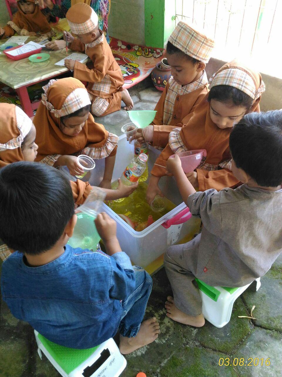 Pengenalan Lingkungan Sekolah di PAUD TERPADU ISLAM DIPONEGORO