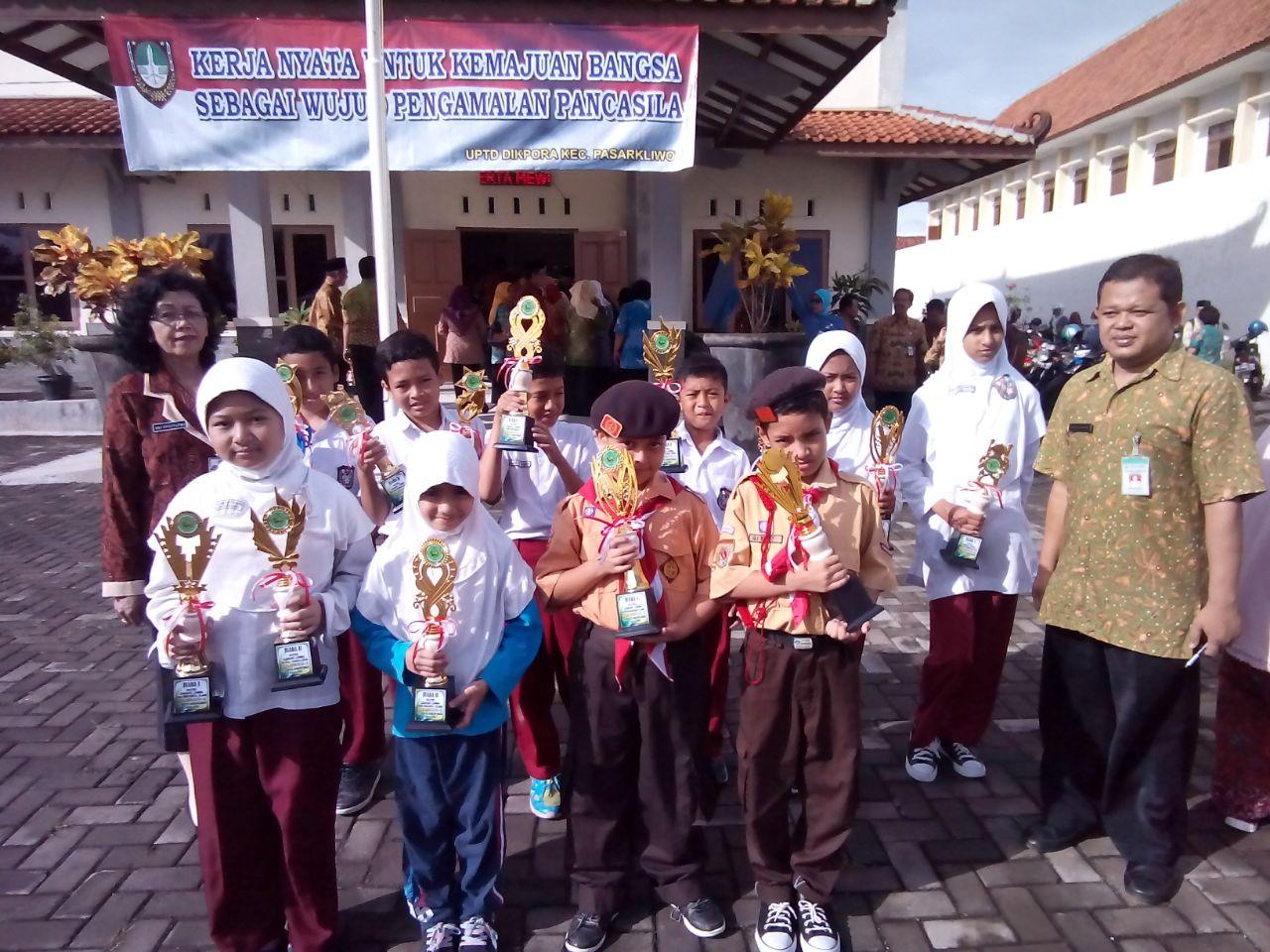 Alhamdulillah, SD Islam Diponegoro Surakarta Sukses Borong Juara
