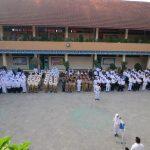 Upacara 17 Agustus Berjalan Khidmat di SD Islam Diponegoro