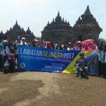 SMA Islam Diponegoro Lawatan Sejarah ke Candi dan Museum di Yogyakarta