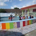 Asyiknya Berenang di PAUD Terpadu Islam Diponegoro