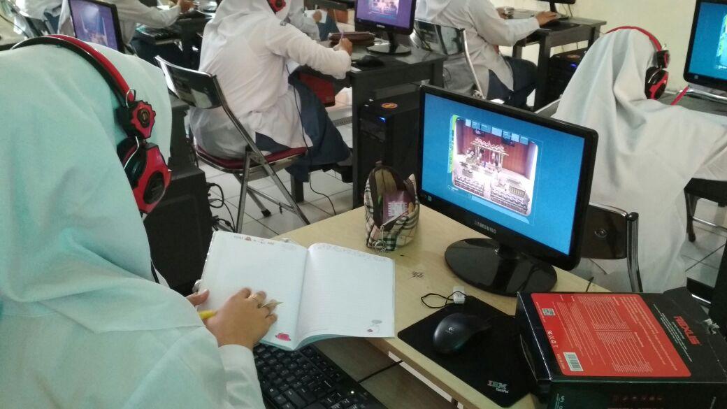 Gamelan Visual dalam Praktek Bahasa Jawa
