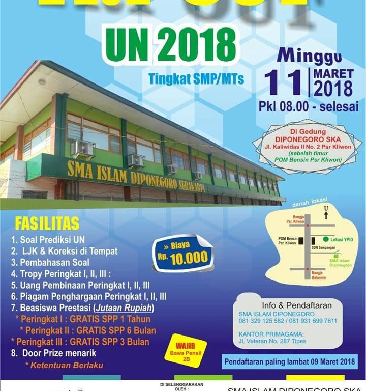 SMA Islam Dinponegoro