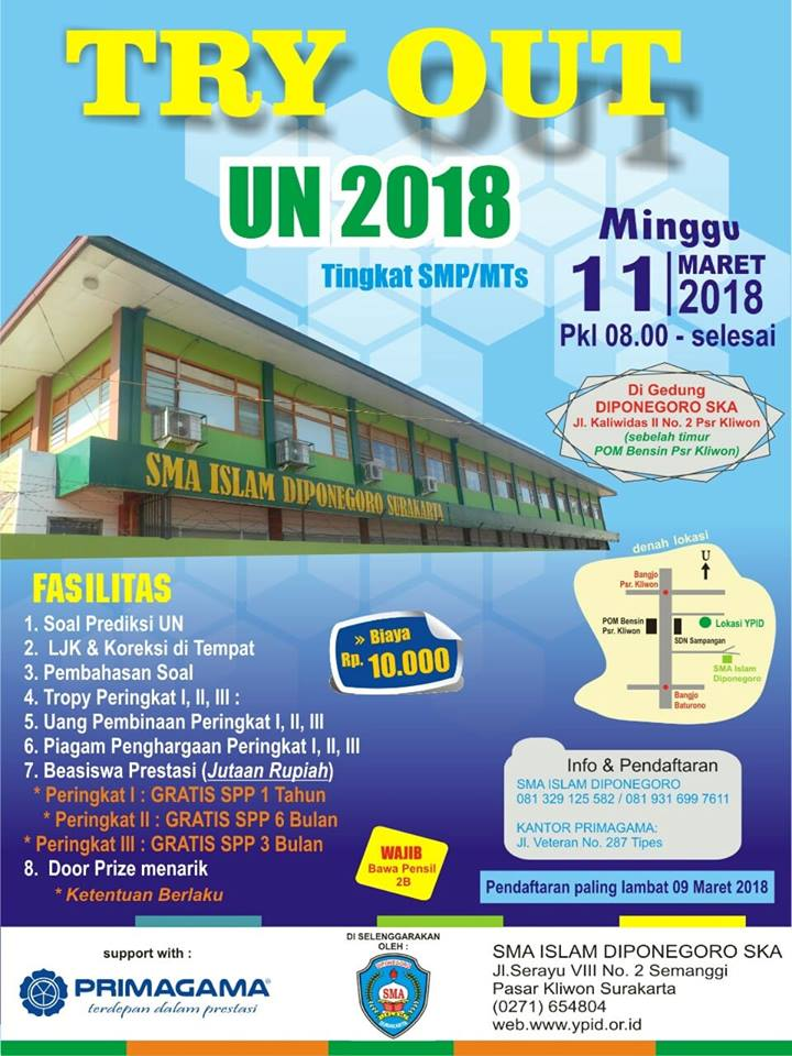 Try Out UN 2018