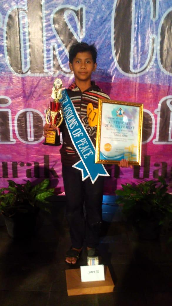 Fachri Akbar Siswa SMP Islam Diponegoro Suakarta kembangkan Bakat Hingga jadi Prestasi