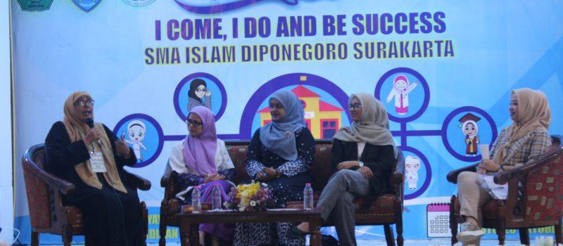 ALUMNI SMA ISLAM DIPONEGORO SURAKARTA (ASMORO) ADAKAN TALKSHOW MOTIVASI 'I COME, I DO AND BE SUCCESS' BERSAMA ALUMNI SUKSES SMA ISLAM DIPONEGORO SURAKARTA